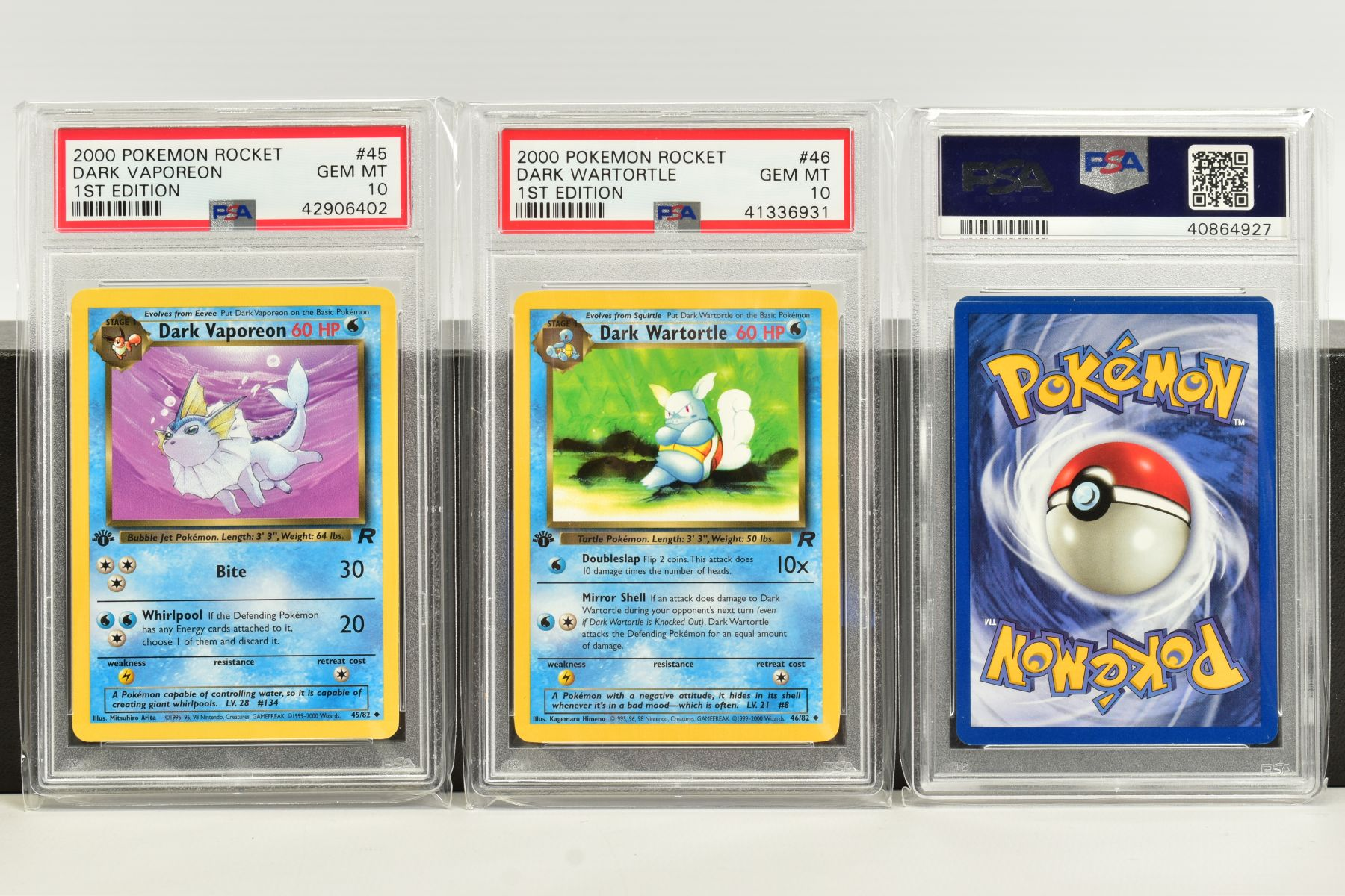 A QUANTITY OF PSA GRADED POKEMON 1ST EDITION TEAM ROCKET SET CARDS, assorted cards between numbers 1 - Image 11 of 11