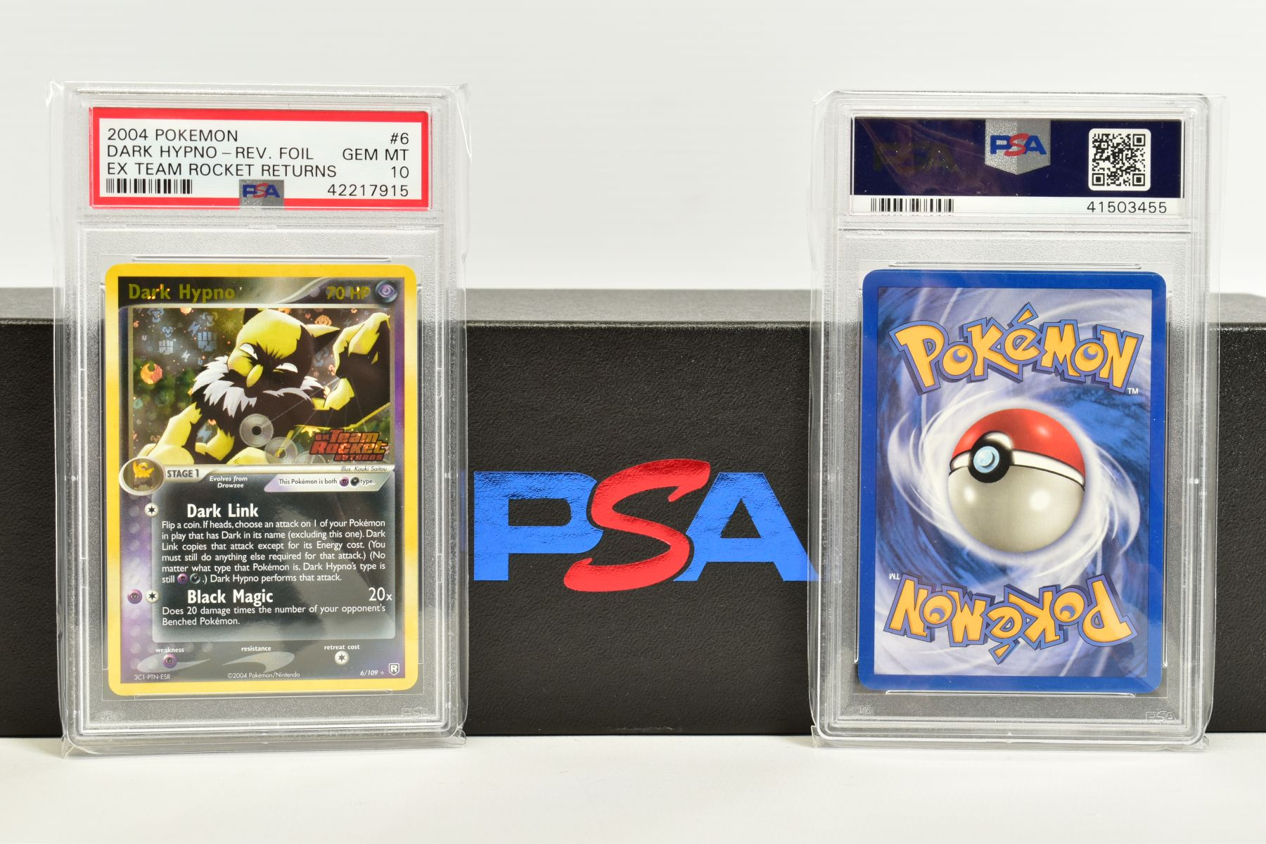 A QUANTITY OF PSA GRADED POKEMON EX TEAM ROCKET RETURNS AND EX RUBY & SAPPHIRE SET CARDS, all are - Image 11 of 15