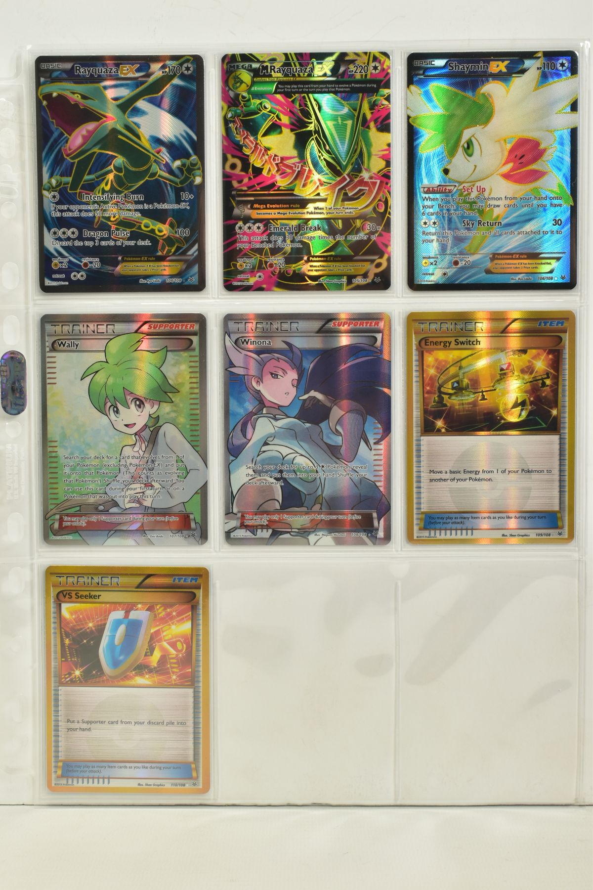A COLLECTION OF ASSORTED POKEMON CARDS, to include complete master sets of XY Breakpoint, XY Roaring - Image 86 of 108