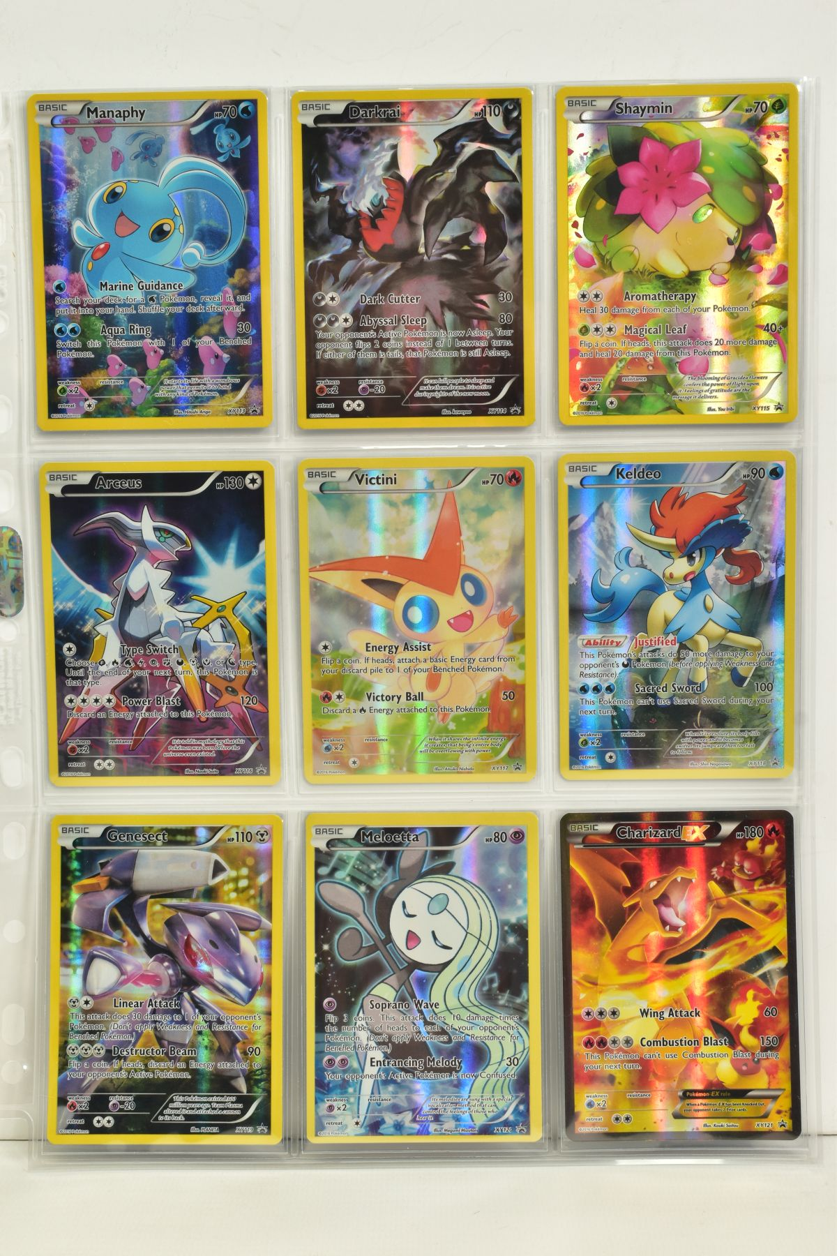 A COLLECTION OF ASSORTED POKEMON CARDS, to include complete master sets of XY Steam Siege, XY - Image 56 of 87