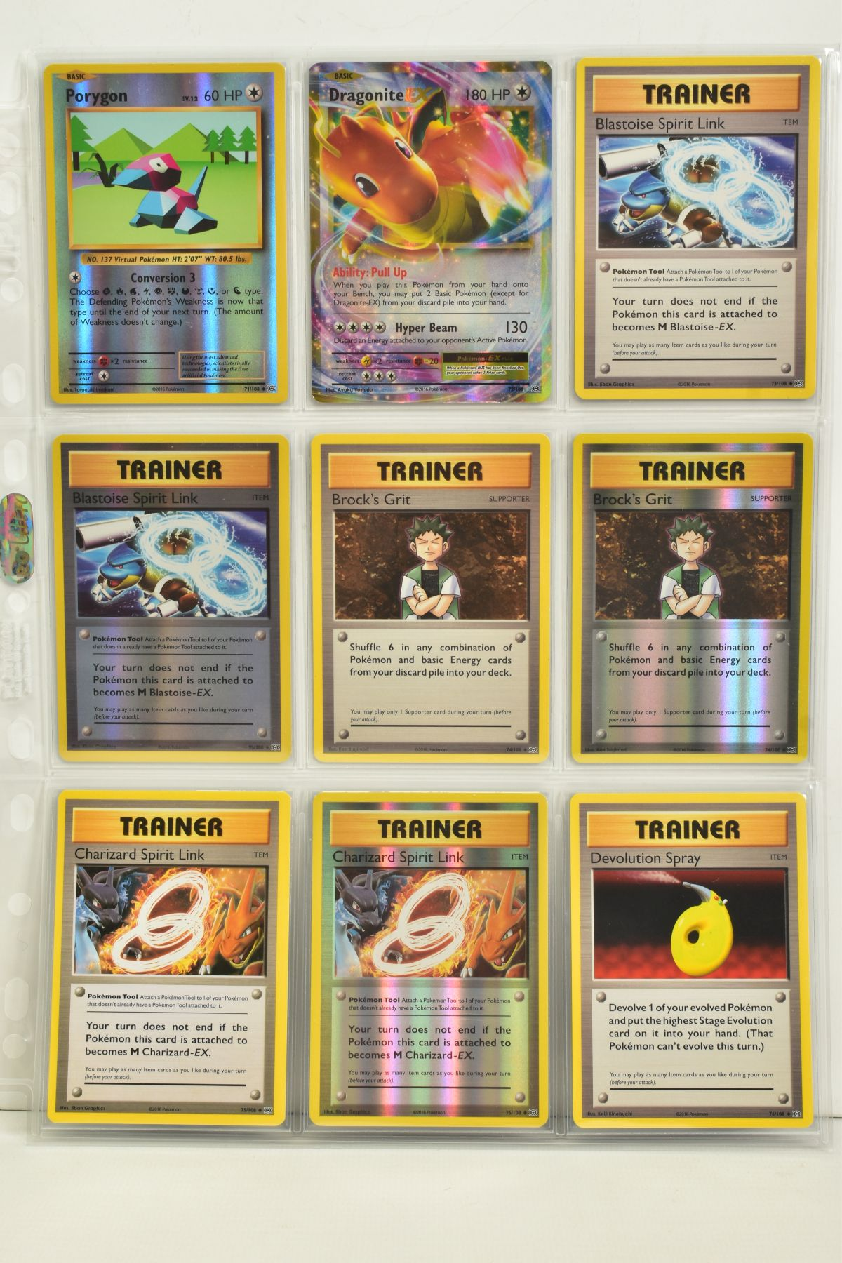 A COLLECTION OF ASSORTED POKEMON CARDS, to include complete master sets of XY Breakpoint, XY Roaring - Image 101 of 108