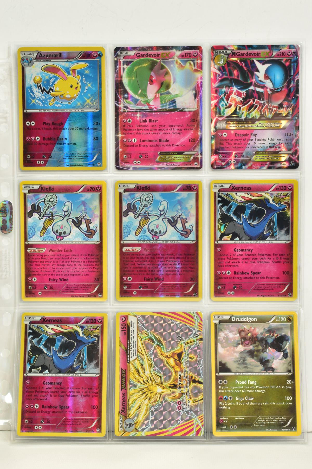 A COLLECTION OF ASSORTED POKEMON CARDS, to include complete master sets of XY Steam Siege, XY - Image 78 of 87
