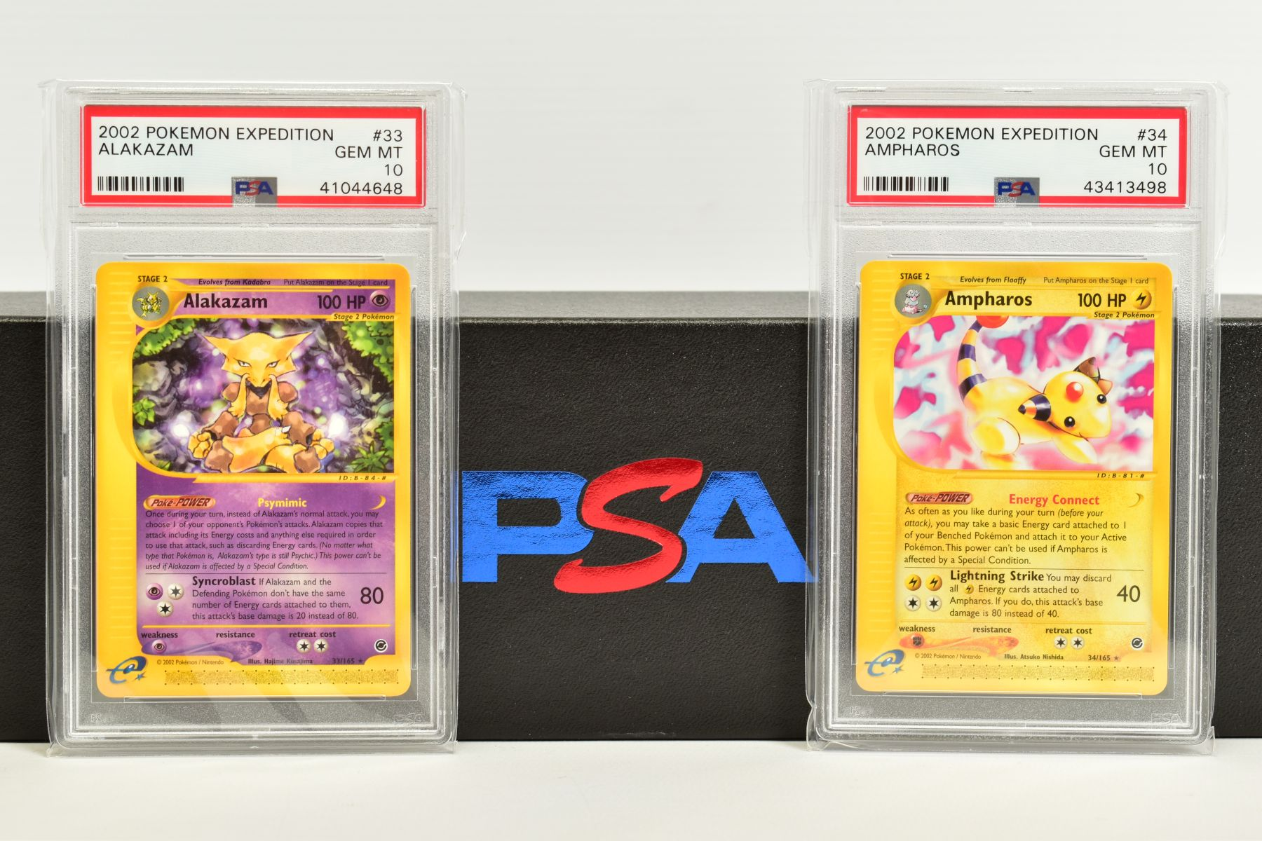 A QUANTITY OF PSA GRADED POKEMON E CARD EXPEDITION BASE SET CARDS, all are graded GEM MINT 10 and