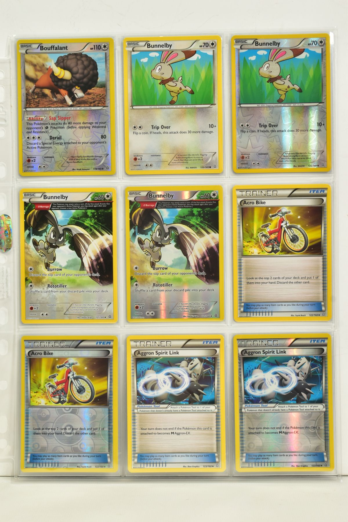 A COLLECTION OF ASSORTED POKEMON CARDS, to include complete master sets of XY Primal Clash, XY - Image 59 of 144