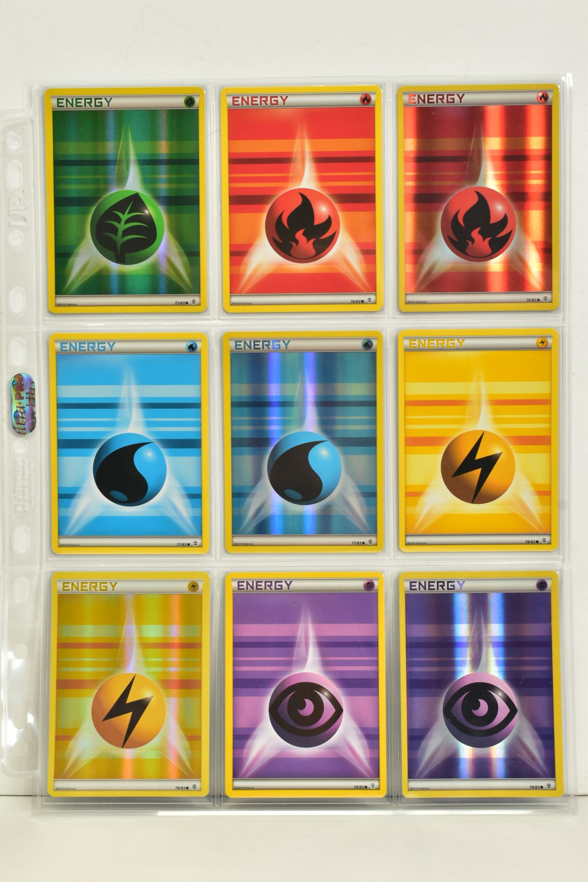 A COLLECTION OF ASSORTED POKEMON CARDS, to include complete master sets of XY Primal Clash, XY - Image 86 of 144