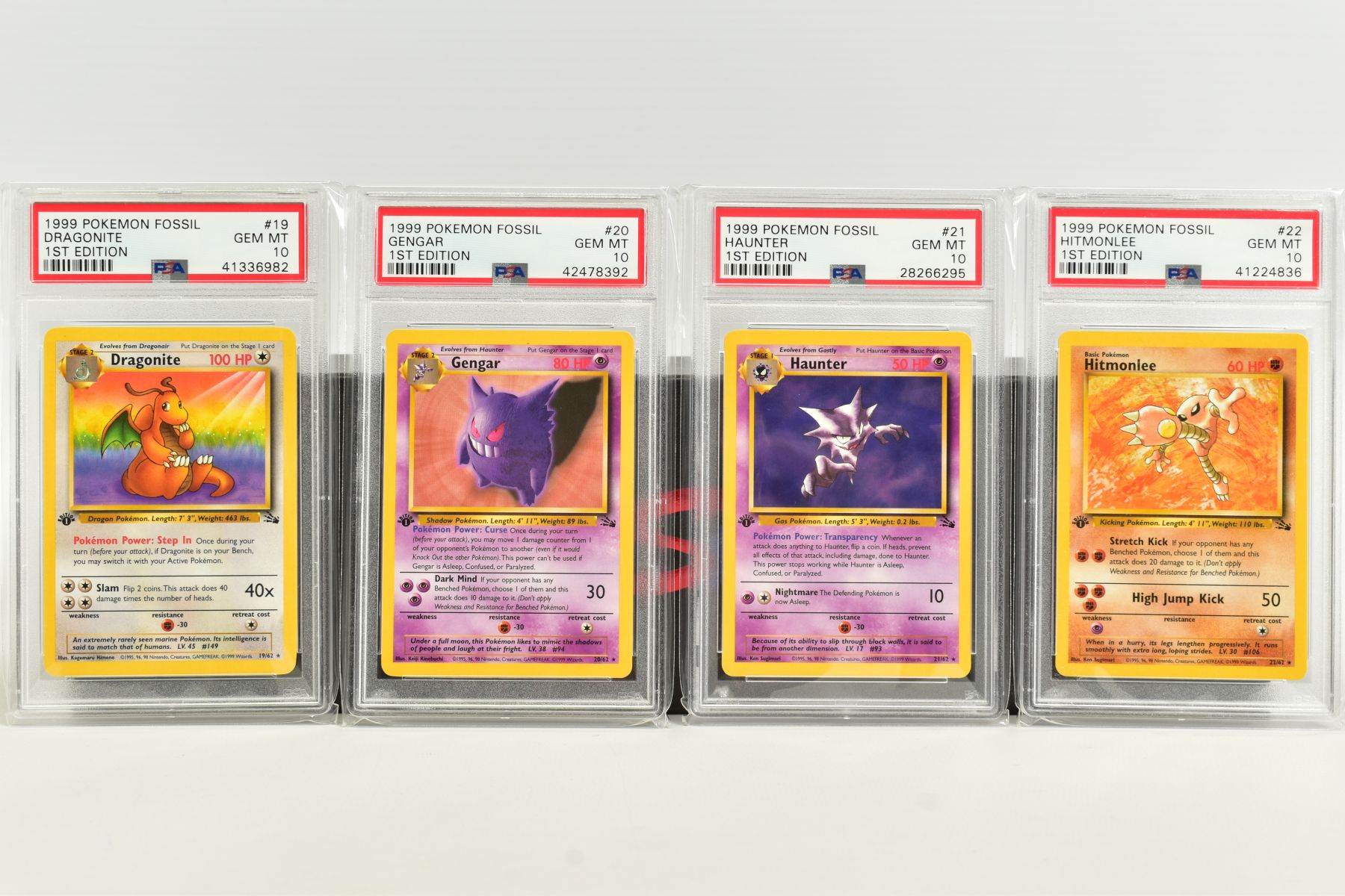 A QUANTITY OF PSA GRADED POKEMON 1ST EDITION FOSSIL SET CARDS, assorted cards between numbers 3 - Image 4 of 8