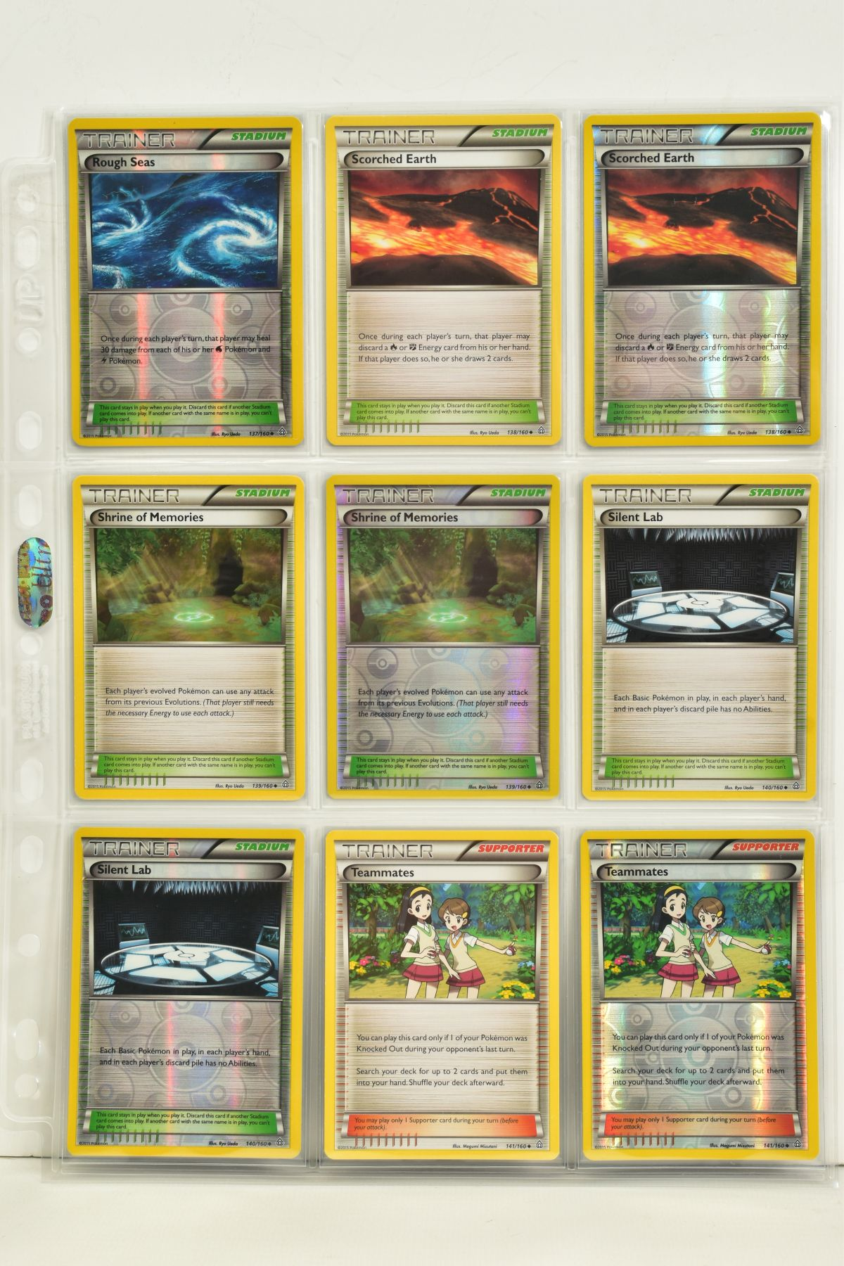 A COLLECTION OF ASSORTED POKEMON CARDS, to include complete master sets of XY Primal Clash, XY - Image 63 of 144