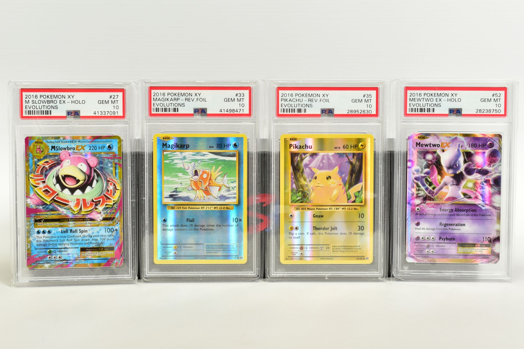 A QUANTITY OF PSA GRADED POKEMON XY EVOLUTIONS SET CARDS, all are graded GEM MINT 10 and are - Image 4 of 10