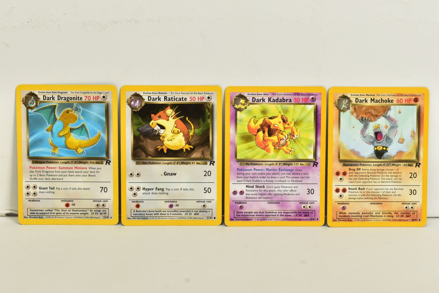A QUANTITY OF SEVENTY SEALED POKEMON UNLIMITED TEAM ROCKET BOOSTER LONG PACKS, four different packet - Image 7 of 9