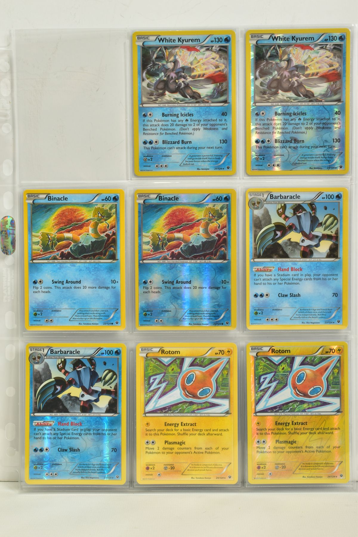 A COLLECTION OF ASSORTED POKEMON CARDS, to include complete master sets of XY Steam Siege, XY - Image 29 of 87