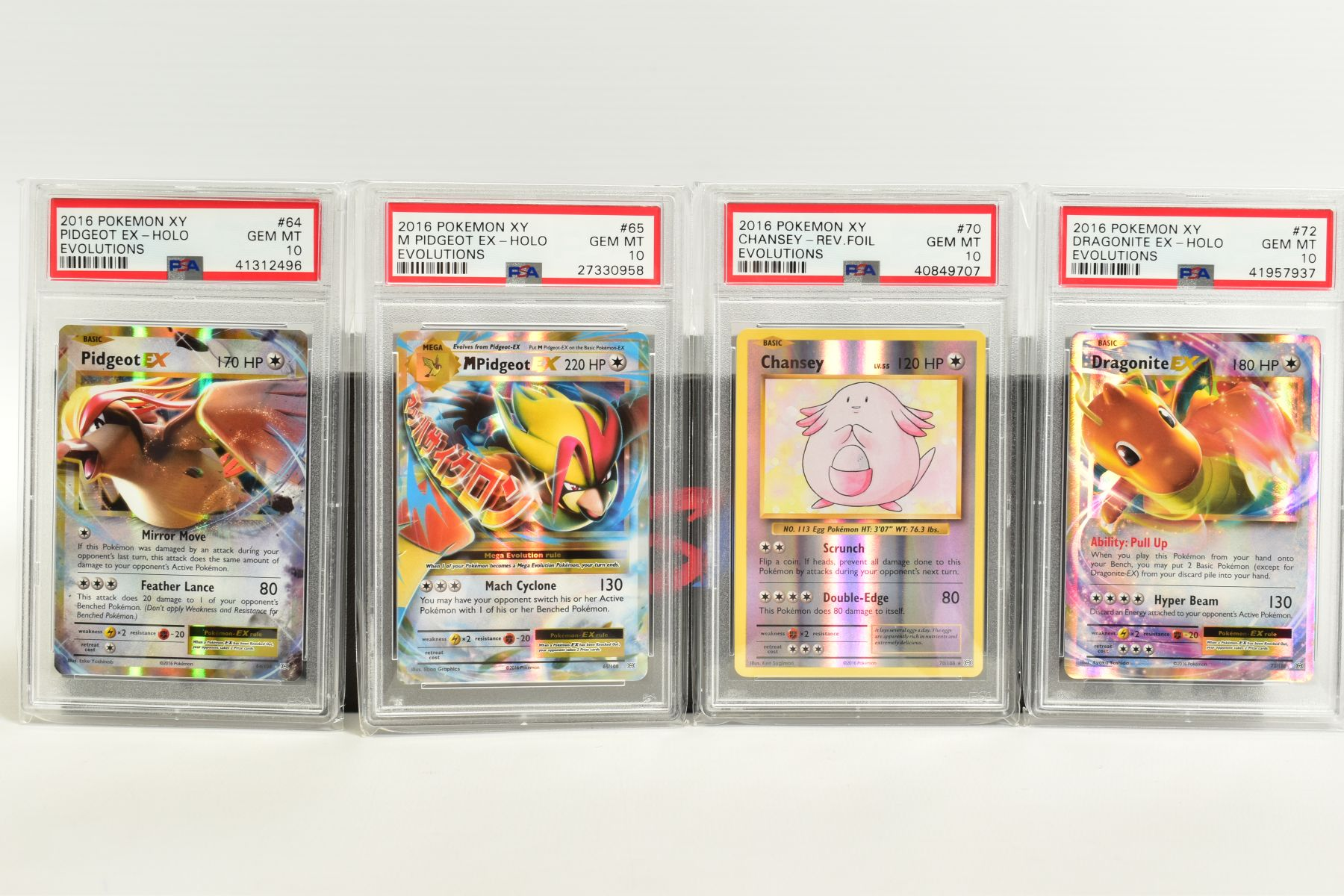 A QUANTITY OF PSA GRADED POKEMON XY EVOLUTIONS SET CARDS, all are graded GEM MINT 10 and are - Image 5 of 10