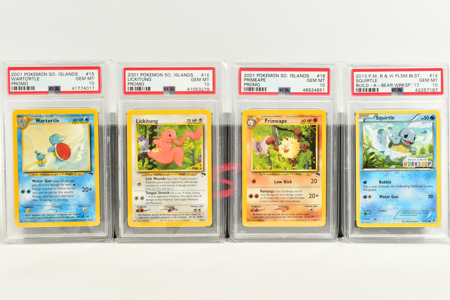 A QUANTITY OF PSA GRADED POKEMON CARDS, assorted cards from the Southern Islands Promos, Build-A- - Image 4 of 12