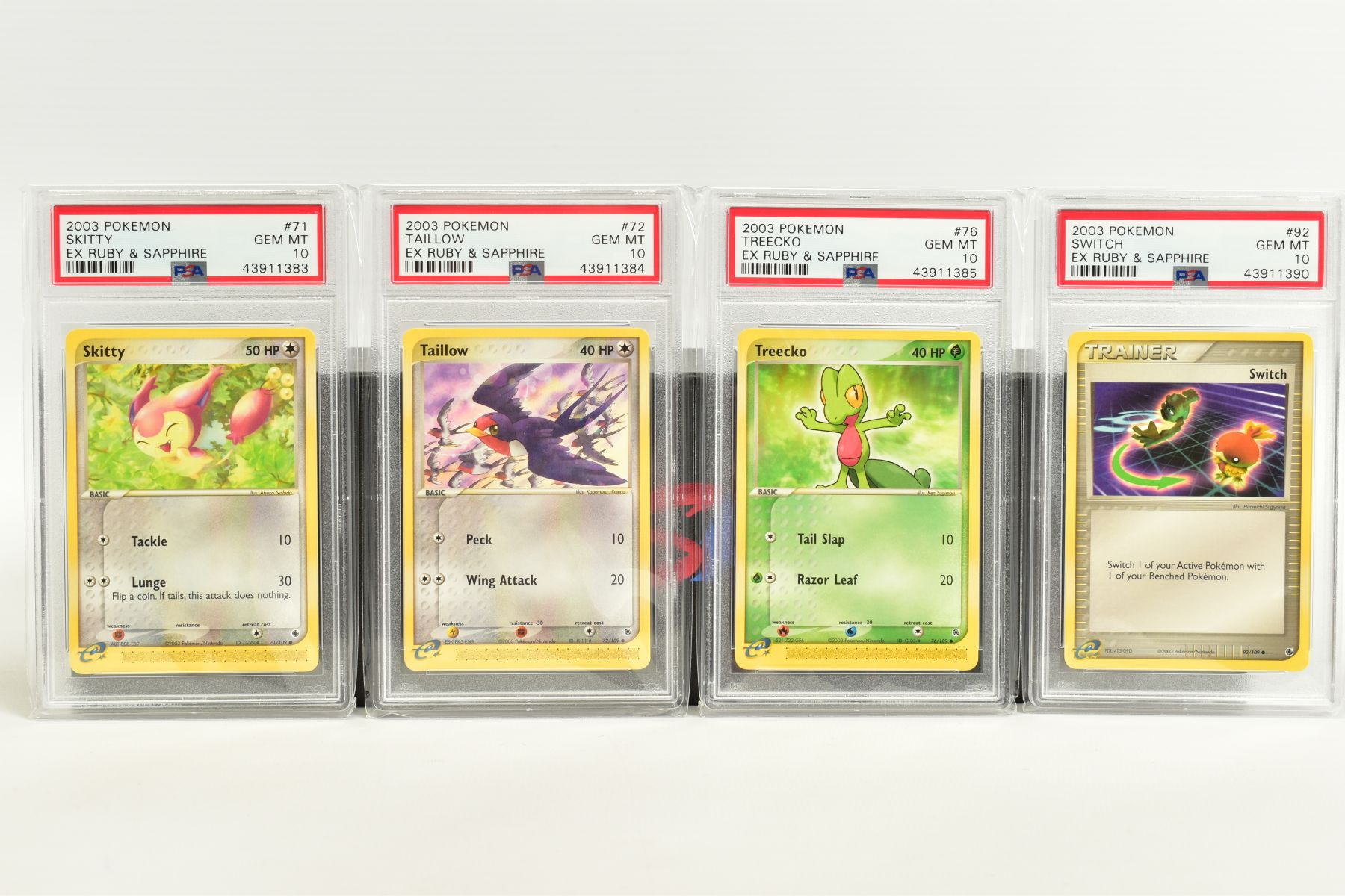 A QUANTITY OF PSA GRADED POKEMON EX TEAM ROCKET RETURNS AND EX RUBY & SAPPHIRE SET CARDS, all are - Image 15 of 15