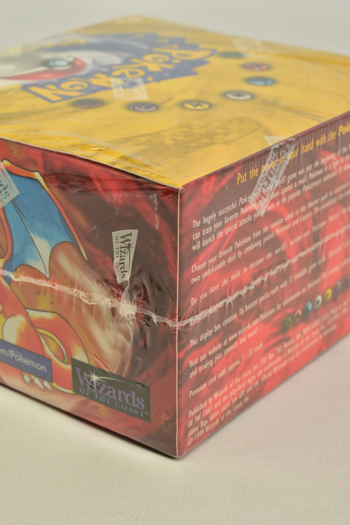 A SEALED POKEMON BASE SET BOOSTER BOX, has some minor damage to cellophane on top left hand corner - Image 10 of 13