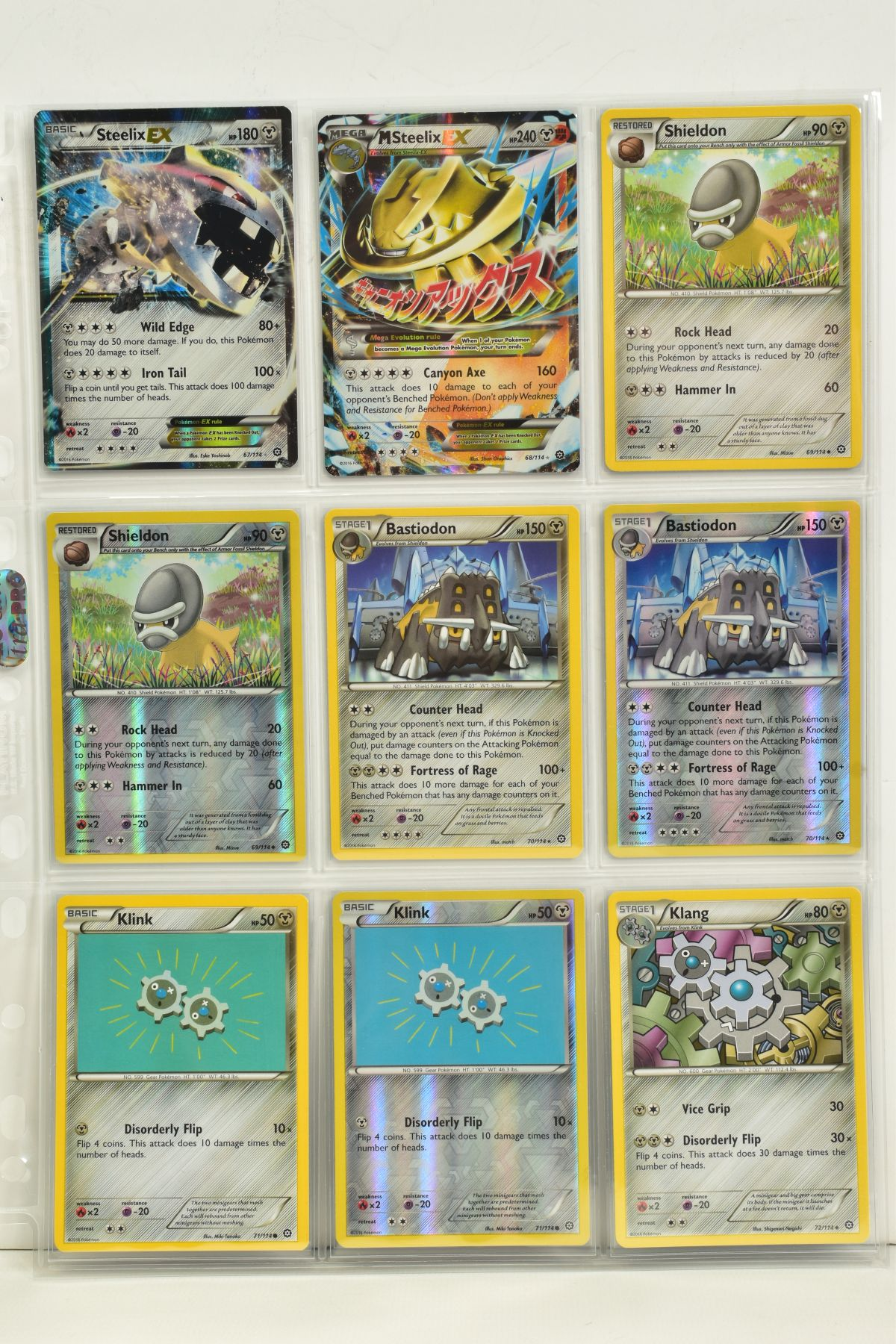 A COLLECTION OF ASSORTED POKEMON CARDS, to include complete master sets of XY Steam Siege, XY - Image 76 of 87