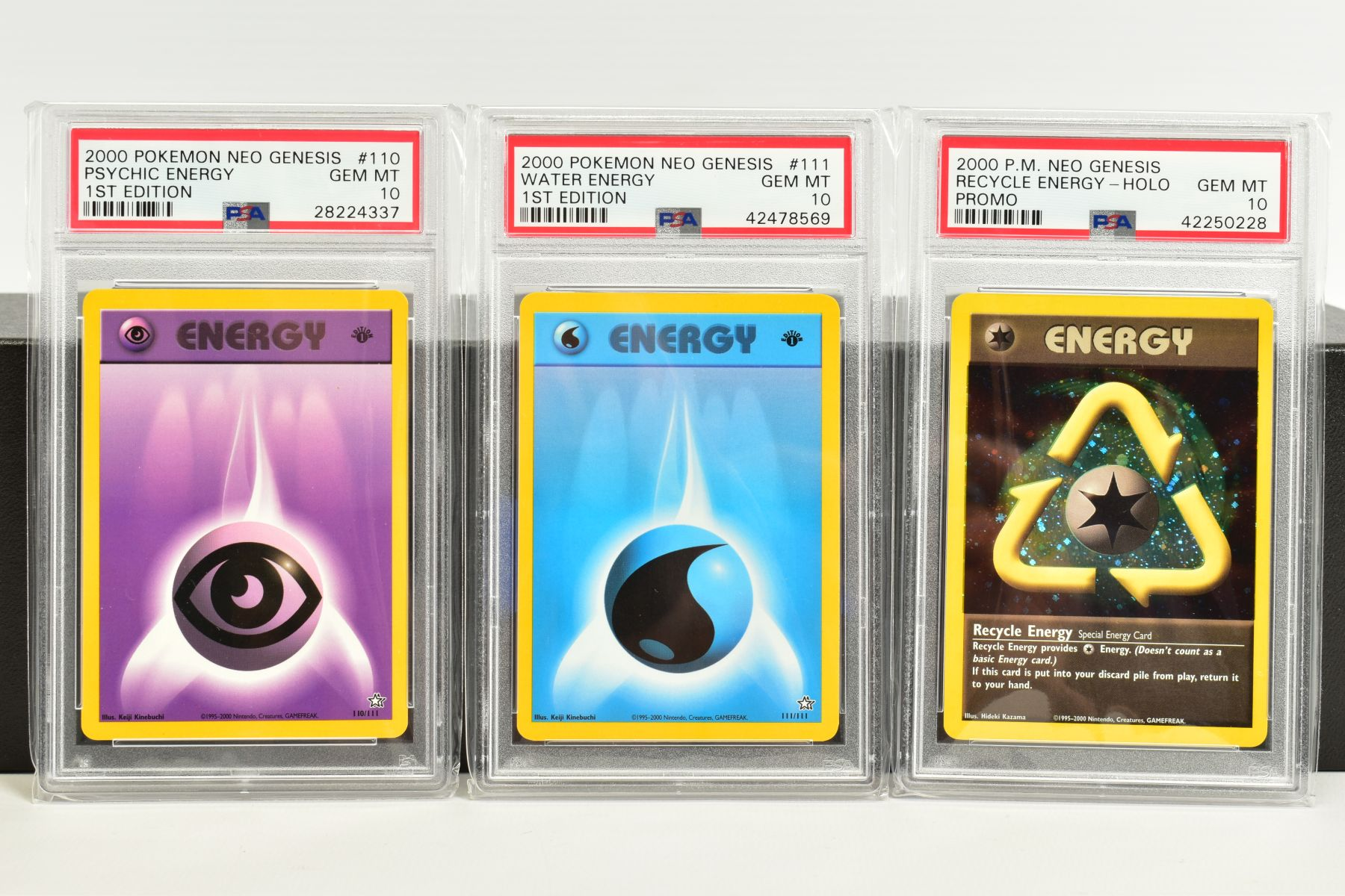 A QUANTITY OF PSA GRADED POKEMON 1ST EDITION NEO GENESIS SET CARDS, all are graded GEM MINT 10 and - Image 24 of 24
