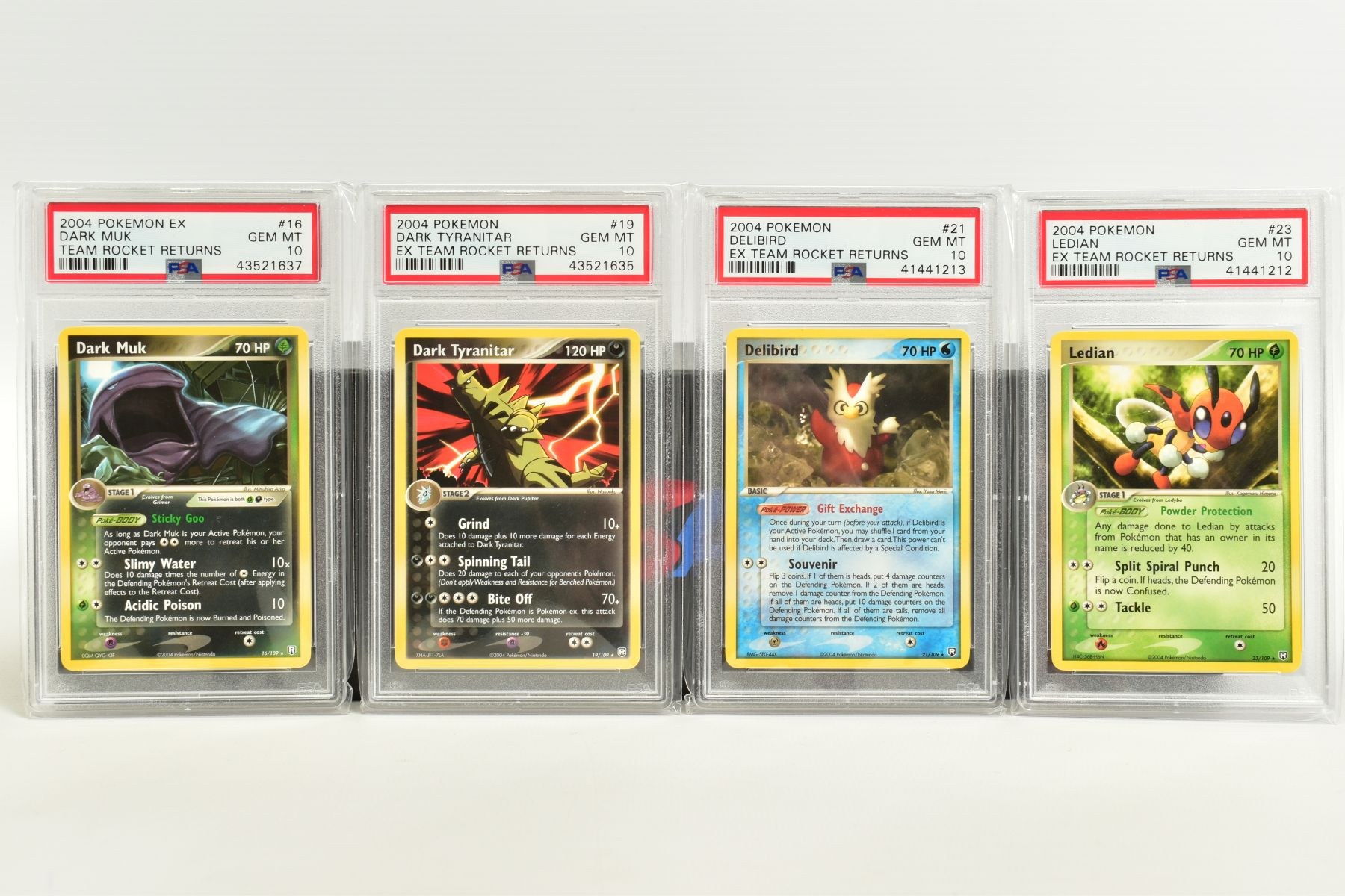 A QUANTITY OF PSA GRADED POKEMON EX TEAM ROCKET RETURNS AND EX RUBY & SAPPHIRE SET CARDS, all are - Image 3 of 15