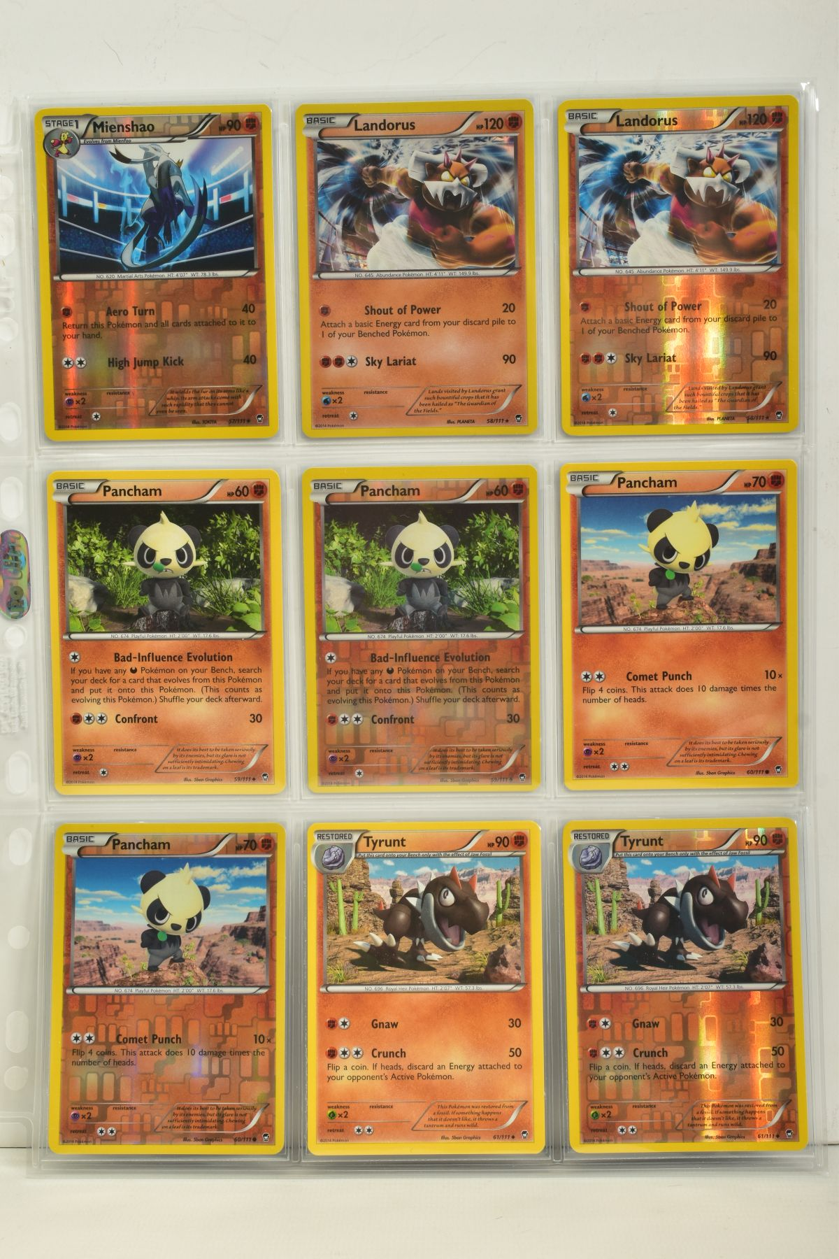 A COLLECTION OF ASSORTED POKEMON CARDS, to include complete master sets of XY Phantom Forces, XY - Image 89 of 101
