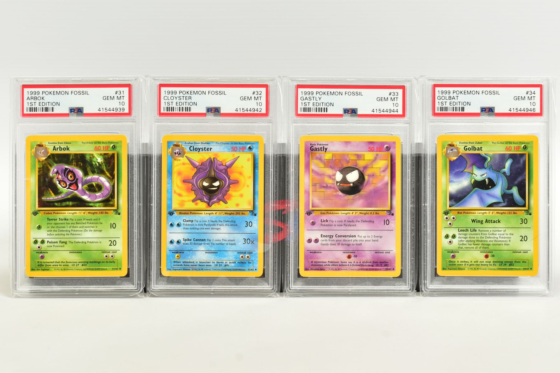 A QUANTITY OF PSA GRADED POKEMON 1ST EDITION FOSSIL SET CARDS, assorted cards between numbers 3 - Image 7 of 8