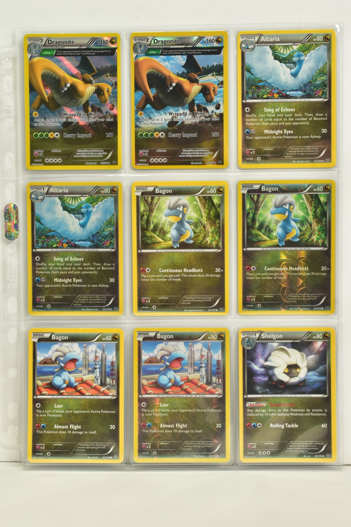 A COLLECTION OF ASSORTED POKEMON CARDS, to include complete master sets of XY Breakpoint, XY Roaring - Image 76 of 108