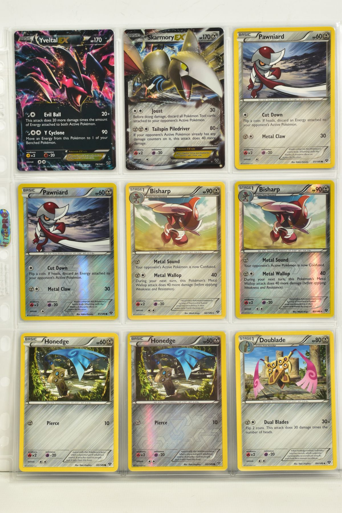 A COLLECTION OF ASSORTED POKEMON CARDS, to include complete master sets of XY Primal Clash, XY - Image 111 of 144