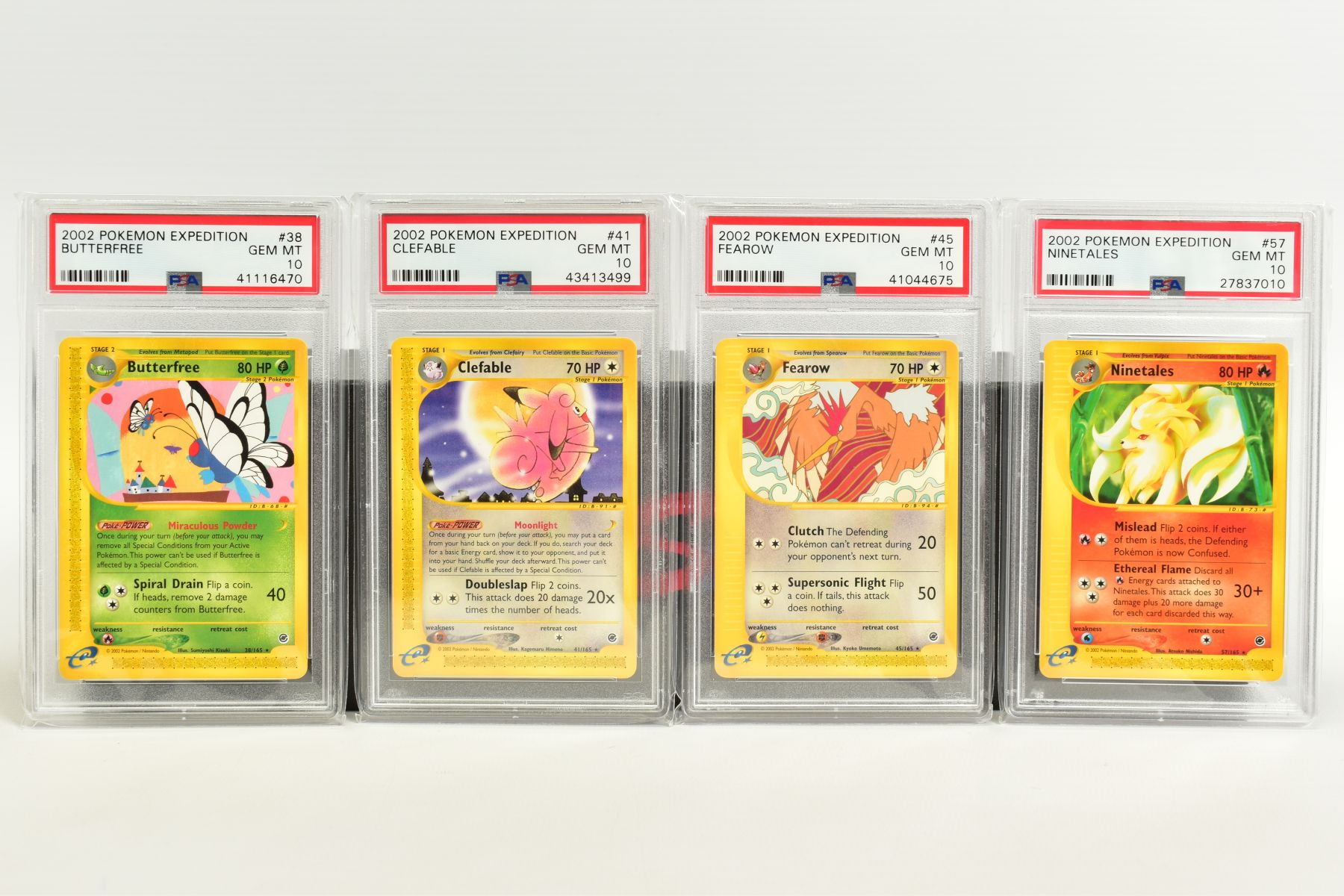 A QUANTITY OF PSA GRADED POKEMON E CARD EXPEDITION BASE SET CARDS, all are graded GEM MINT 10 and - Image 2 of 12