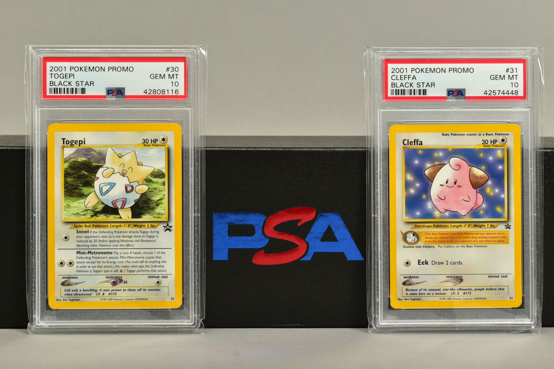 A QUANTITY OF PSA GRADED WIZARDS OF THE COAST POKEMON BLACK STAR PROMO CARDS, all date from 1999 - Image 8 of 8