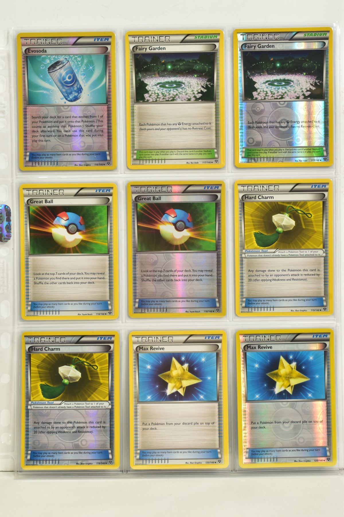A COLLECTION OF ASSORTED POKEMON CARDS, to include complete master sets of XY Primal Clash, XY - Image 119 of 144