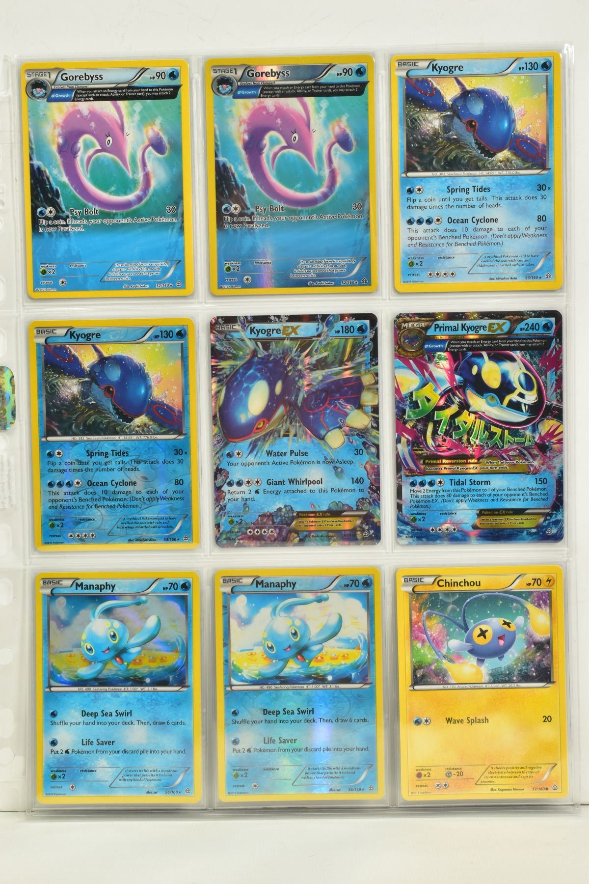 A COLLECTION OF ASSORTED POKEMON CARDS, to include complete master sets of XY Primal Clash, XY - Image 45 of 144