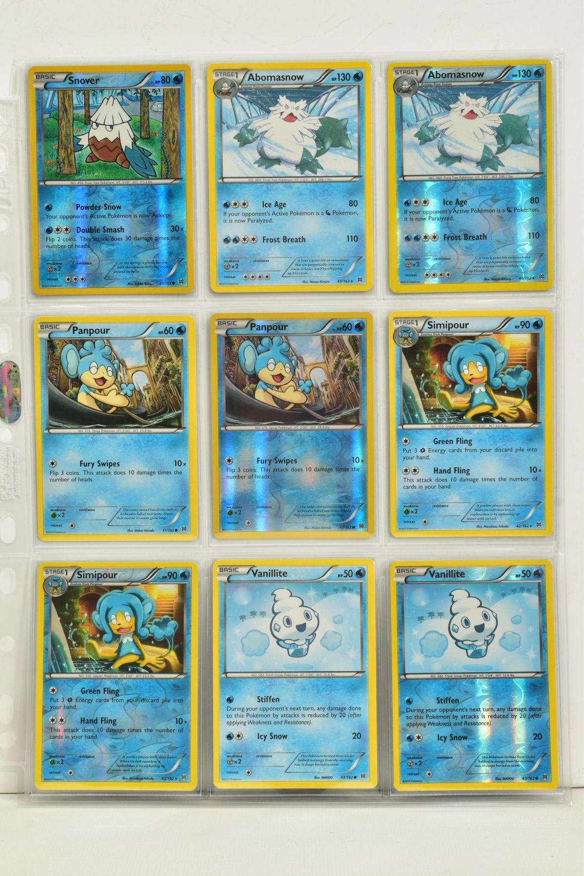 A COLLECTION OF ASSORTED POKEMON CARDS, to include complete master sets of XY Breakpoint, XY Roaring - Image 10 of 108