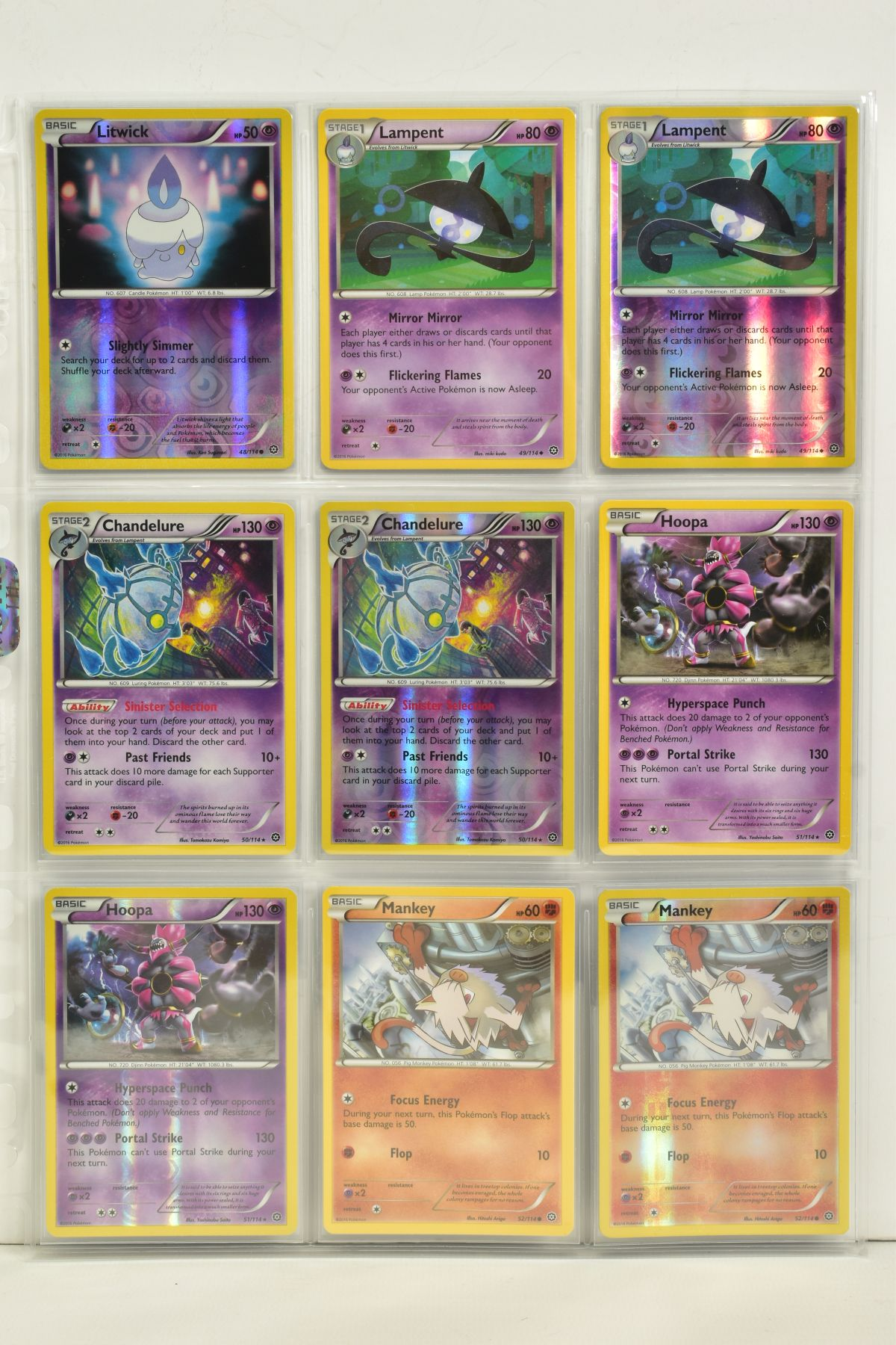 A COLLECTION OF ASSORTED POKEMON CARDS, to include complete master sets of XY Steam Siege, XY - Image 72 of 87