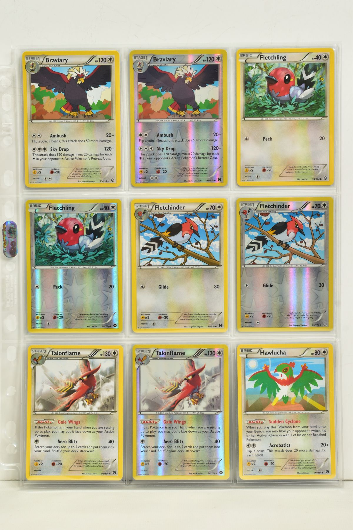 A COLLECTION OF ASSORTED POKEMON CARDS, to include complete master sets of XY Steam Siege, XY - Image 81 of 87