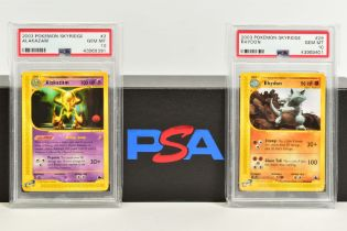 A QUANTITY OF PSA GRADED POKEMON SKYRIDGE SET CARDS, all are graded GEM MINT 10 and are sealed in