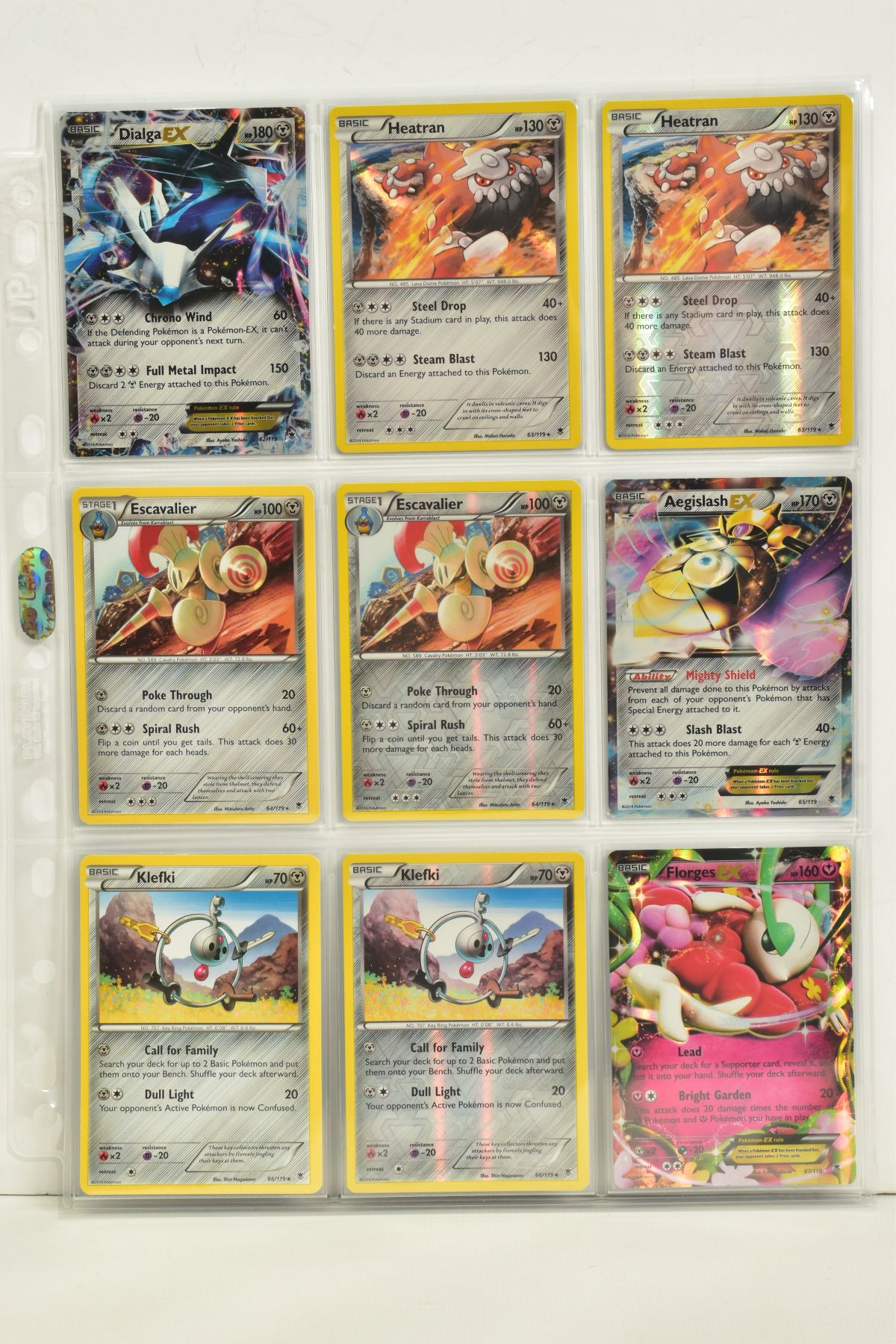 A COLLECTION OF ASSORTED POKEMON CARDS, to include complete master sets of XY Phantom Forces, XY - Image 65 of 101