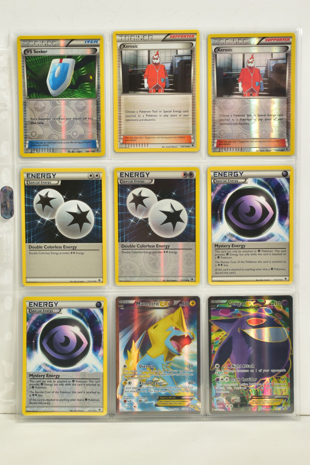 A COLLECTION OF ASSORTED POKEMON CARDS, to include complete master sets of XY Phantom Forces, XY - Image 75 of 101