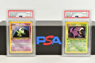 A QUANTITY OF PSA GRADED POKEMON 1ST EDITION NEO REVELATION SET CARDS, all are graded GEM MINT 10