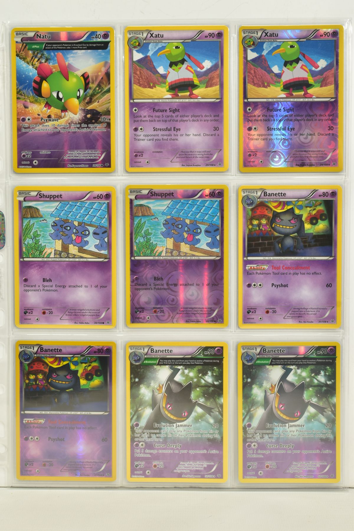 A COLLECTION OF ASSORTED POKEMON CARDS, to include complete master sets of XY Breakpoint, XY Roaring - Image 71 of 108