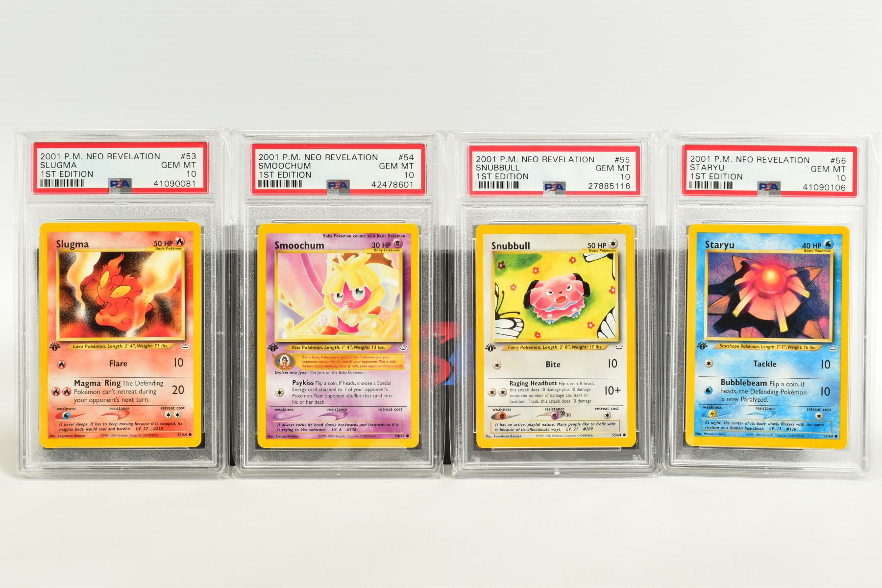 A QUANTITY OF PSA GRADED POKEMON 1ST EDITION NEO REVELATION SET CARDS, all are graded GEM MINT 10 - Image 12 of 14