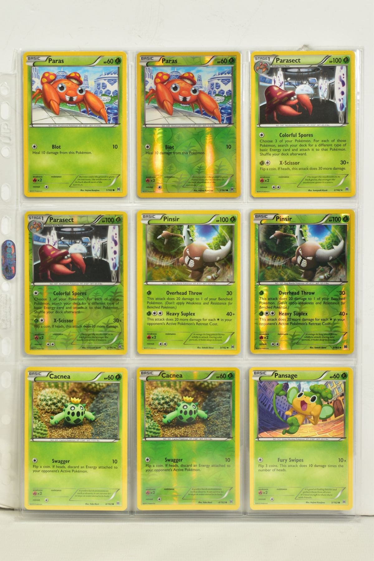 A COLLECTION OF ASSORTED POKEMON CARDS, to include complete master sets of XY Breakpoint, XY Roaring - Image 2 of 108