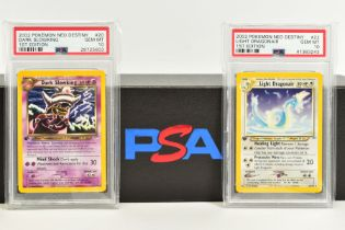 A QUANTITY OF PSA GRADED POKEMON 1ST EDITION NEO DESTINY SET CARDS, all are graded GEM MINT 10 and