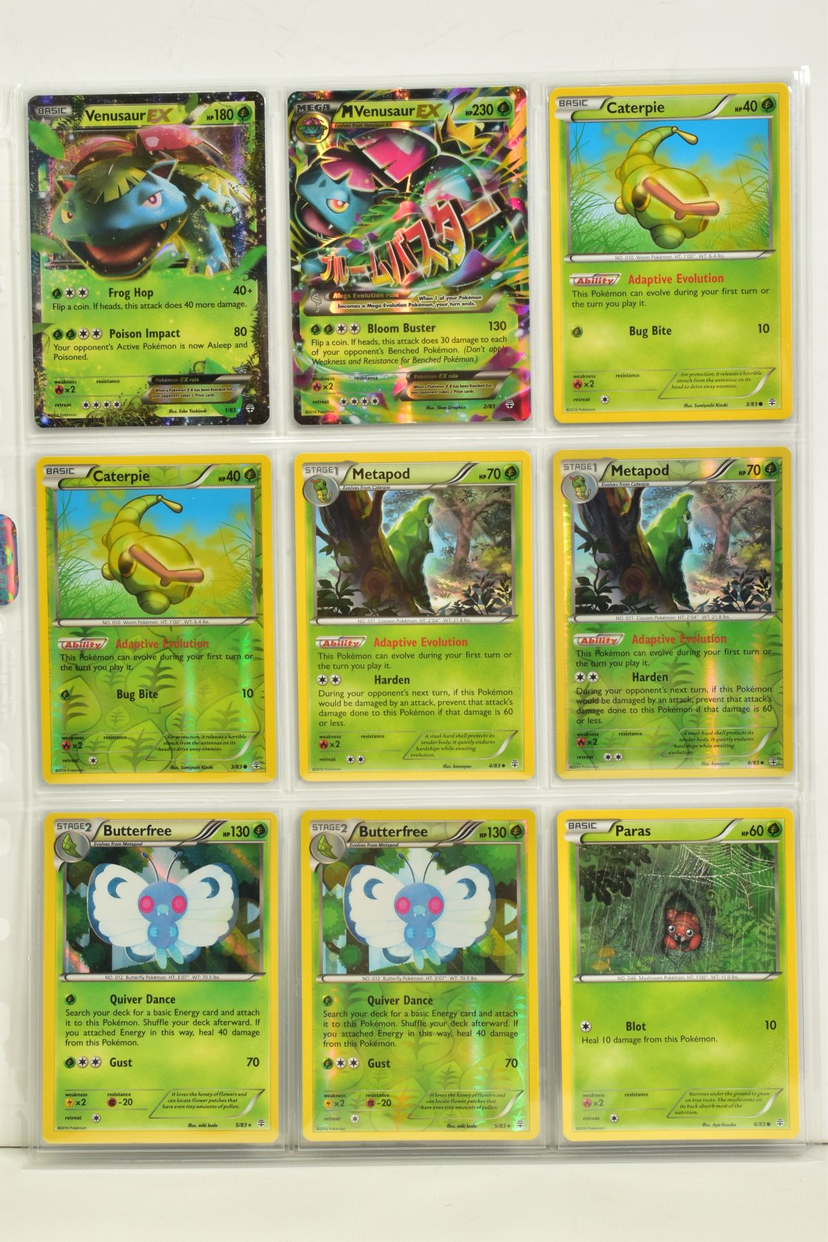 A COLLECTION OF ASSORTED POKEMON CARDS, to include complete master sets of XY Primal Clash, XY - Image 71 of 144