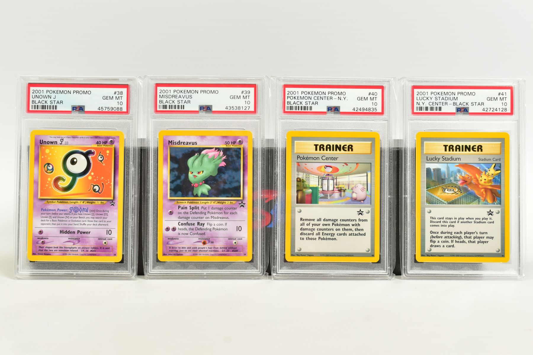 A QUANTITY OF PSA GRADED WIZARDS OF THE COAST POKEMON BLACK STAR PROMO CARDS, all date from 2000 - Image 3 of 8