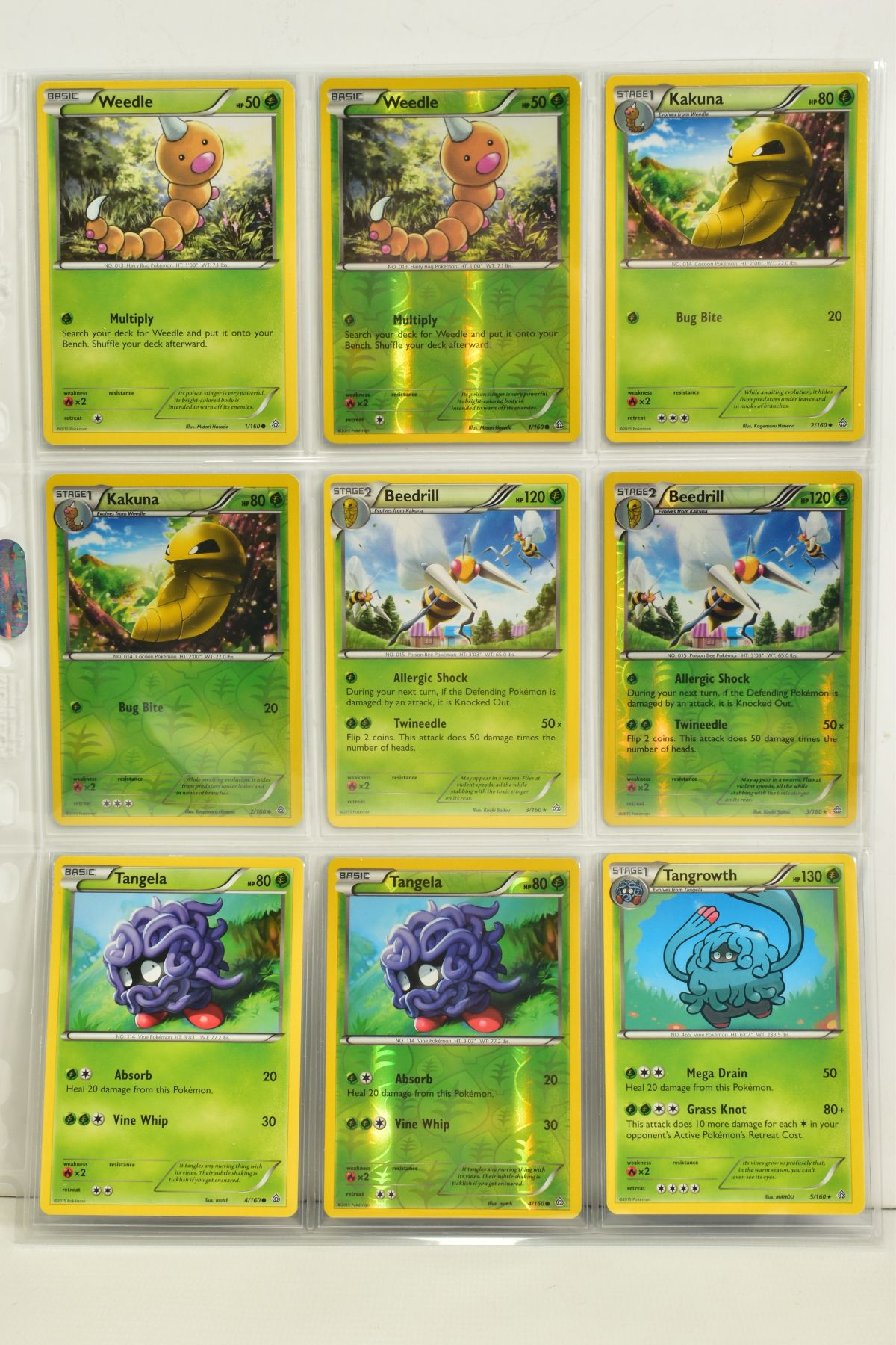 A COLLECTION OF ASSORTED POKEMON CARDS, to include complete master sets of XY Primal Clash, XY - Image 34 of 144