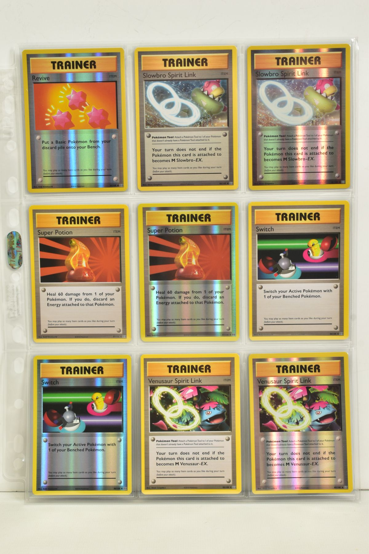 A COLLECTION OF ASSORTED POKEMON CARDS, to include complete master sets of XY Breakpoint, XY Roaring - Image 104 of 108