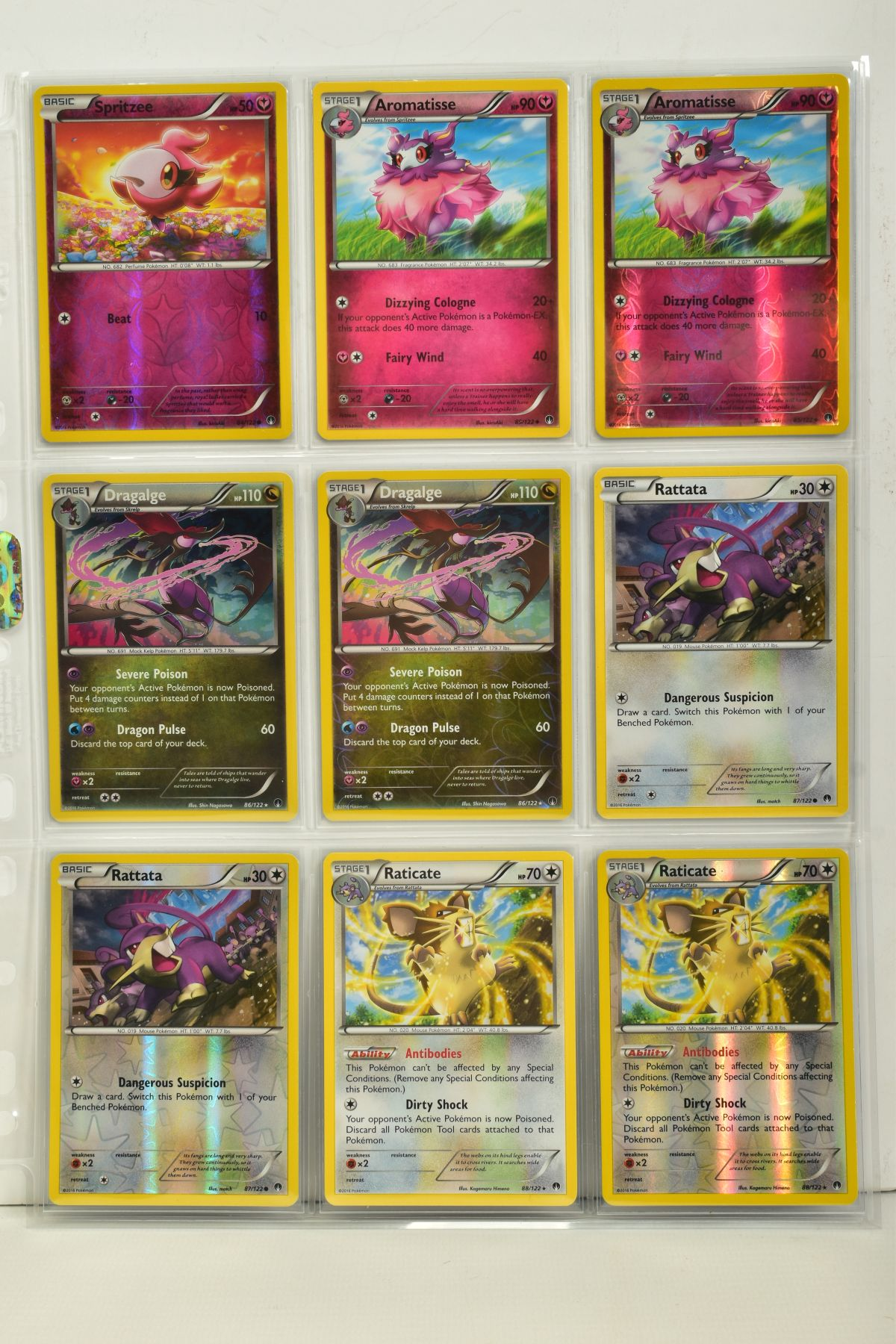 A COLLECTION OF ASSORTED POKEMON CARDS, to include complete master sets of XY Breakpoint, XY Roaring - Image 57 of 108