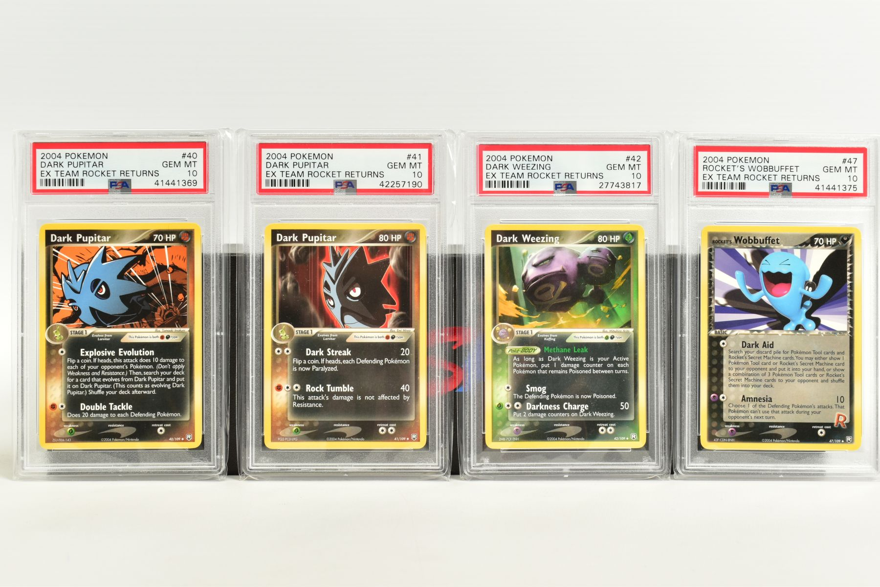 A QUANTITY OF PSA GRADED POKEMON EX TEAM ROCKET RETURNS AND EX RUBY & SAPPHIRE SET CARDS, all are - Image 6 of 15