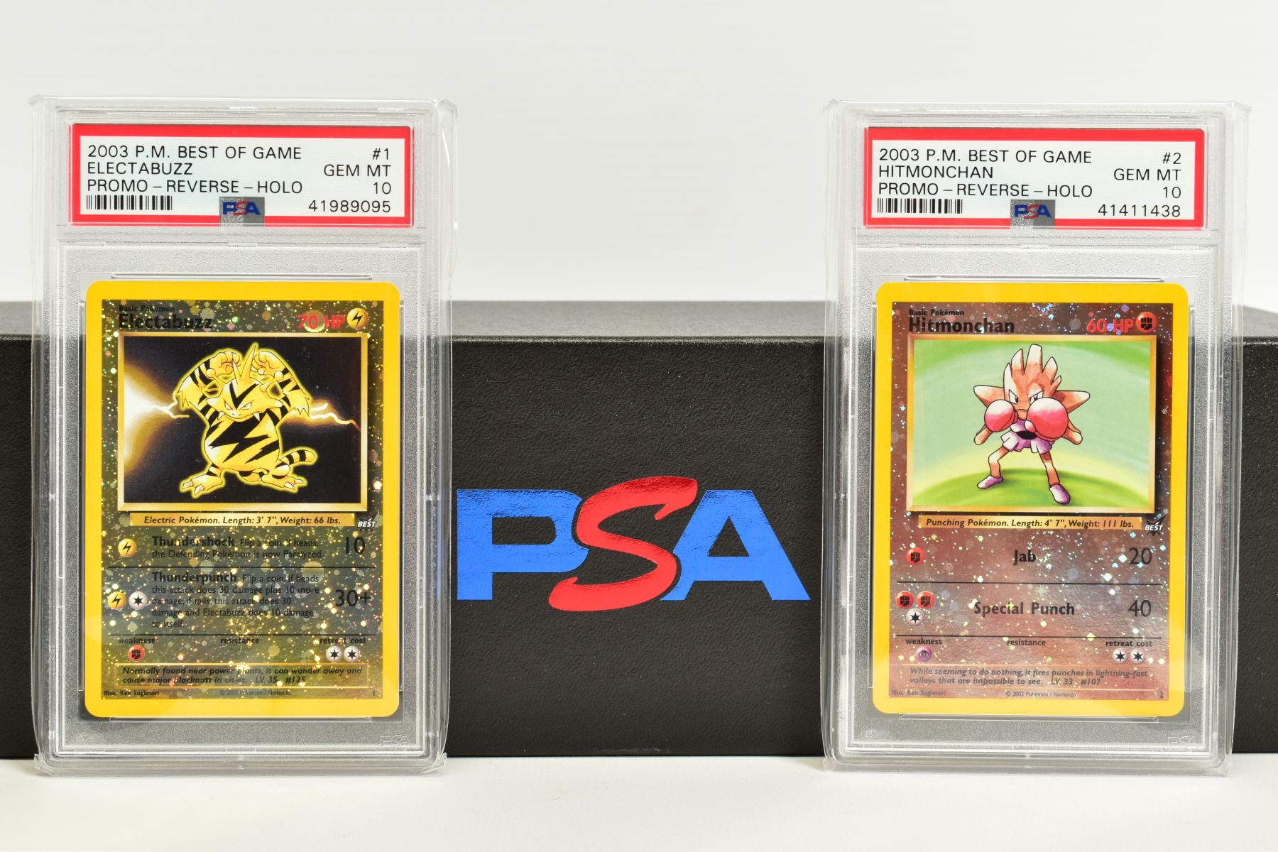 A QUANTITY OF PSA GRADED POKEMON BEST OF GAME CARDS, all are graded GEM MINT 10 and are sealed in