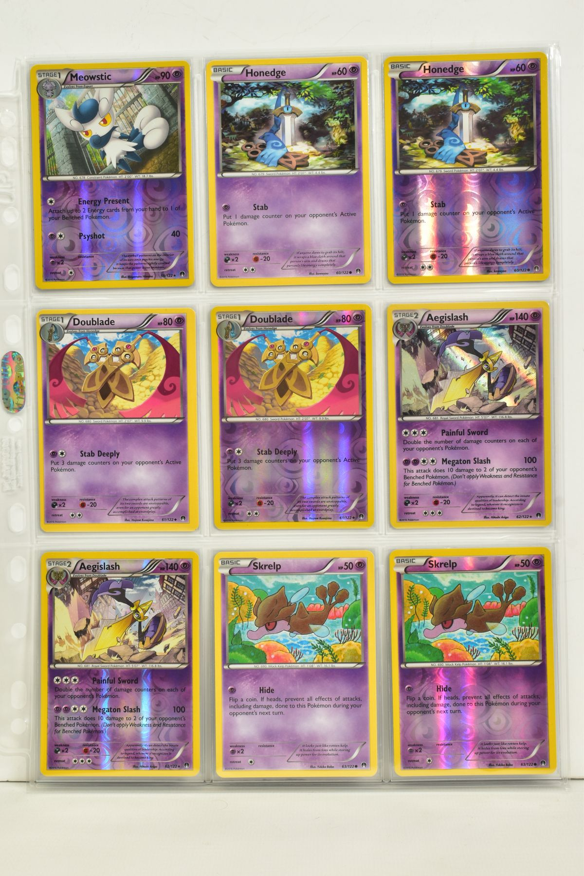 A COLLECTION OF ASSORTED POKEMON CARDS, to include complete master sets of XY Breakpoint, XY Roaring - Image 52 of 108