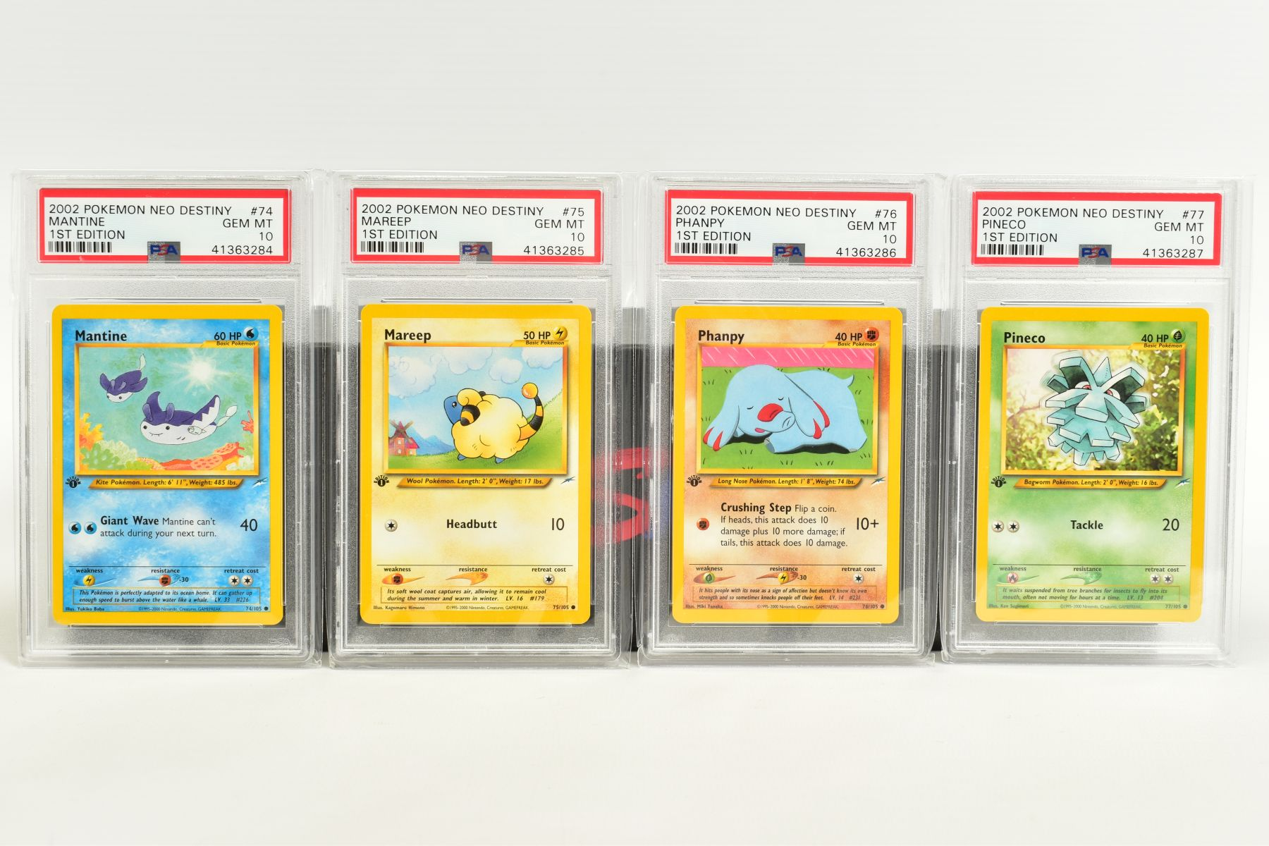 A QUANTITY OF PSA GRADED POKEMON 1ST EDITION NEO DESTINY SET CARDS, all are graded GEM MINT 10 and - Image 5 of 7