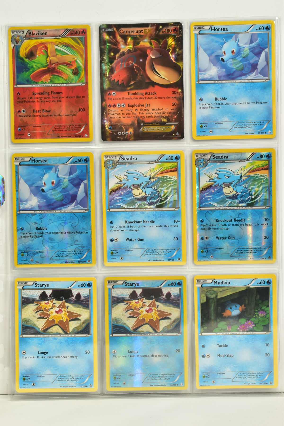 A COLLECTION OF ASSORTED POKEMON CARDS, to include complete master sets of XY Primal Clash, XY - Image 40 of 144